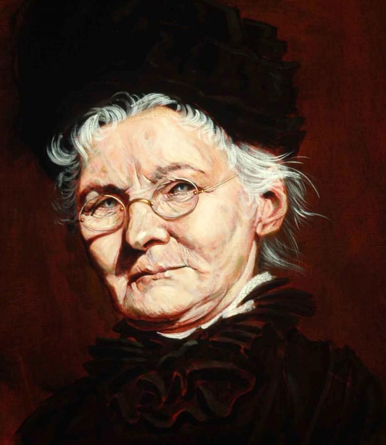 1007a. Portrait of Mary Harris aka Mother Jones