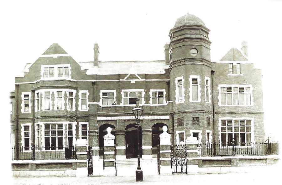 1008b. Carnegie Library, Anglesea Street, Cork, c.1900