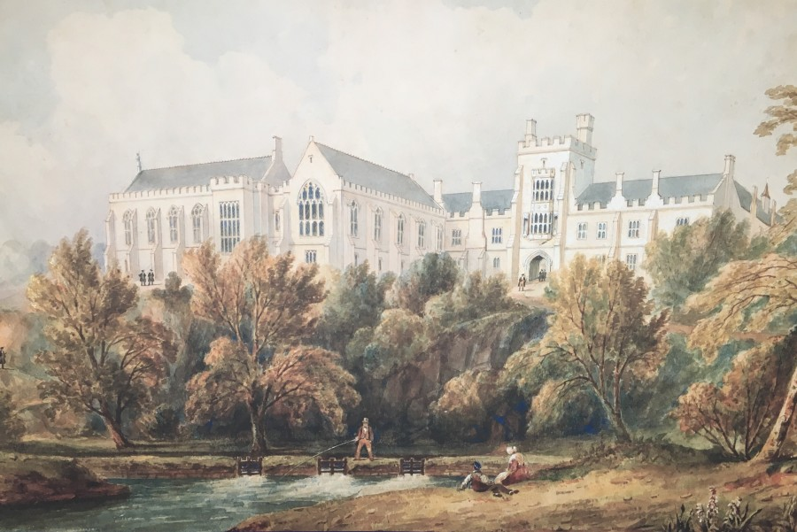 1009a. Queen's College Cork, by Robert Lowe Stopford, c.1850-1870