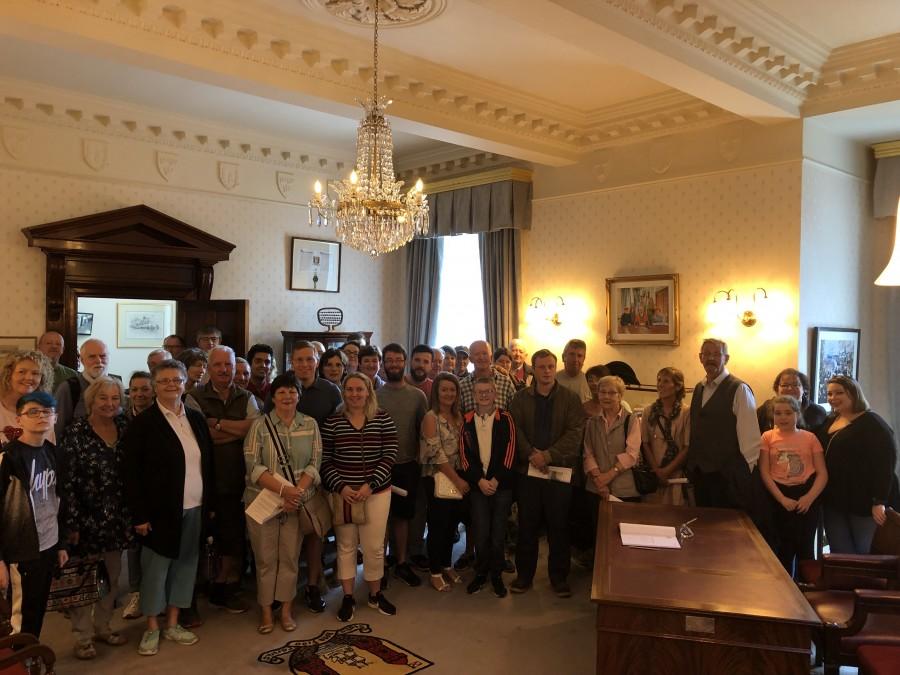 Cork City Hall tour with Cllr Kieran McCarthy, August 2019