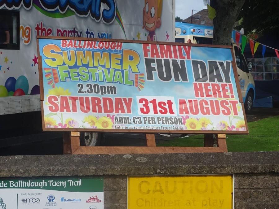 1. Ballnlough Summer Festival, 31 August 2019