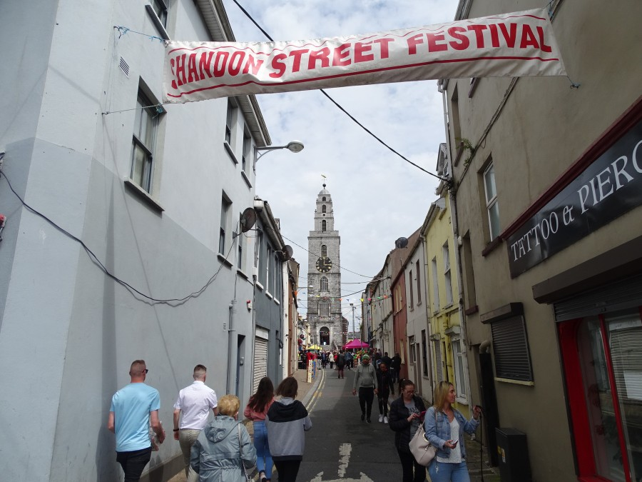 1010a. Church Street, Shandon, during the recent Shandon Street Festival, 2019, one of the themes on Kieran's upcoming walking tours for National Heritage Week