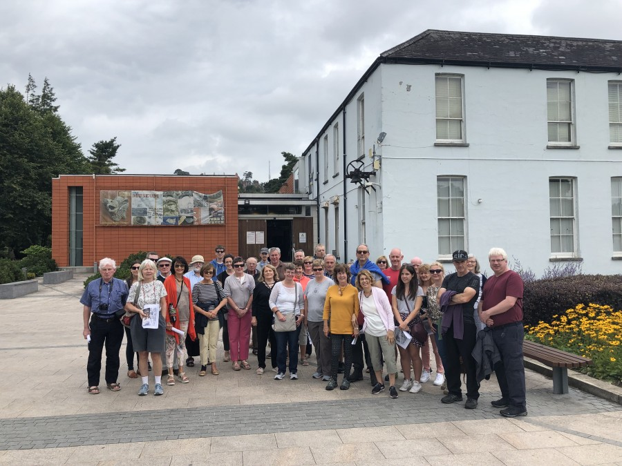 Fitzgerald's Park and the Mardyke tour with Cllr Kieran McCarthy, August 2019