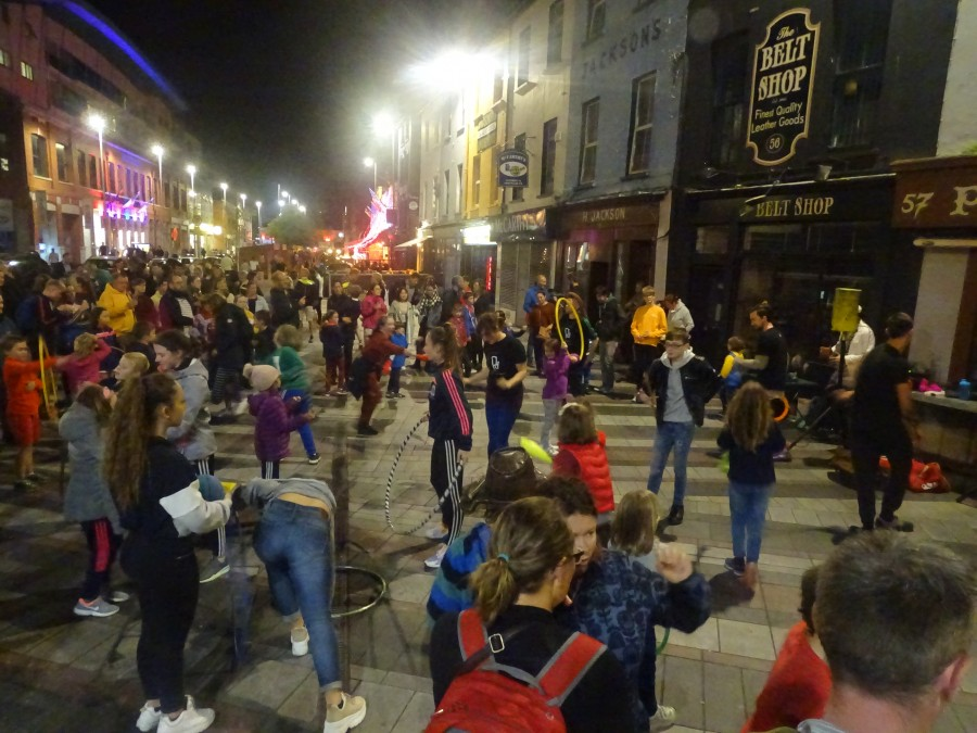 Cork Coal Quay, Cork Culture Night, 20 September 2019