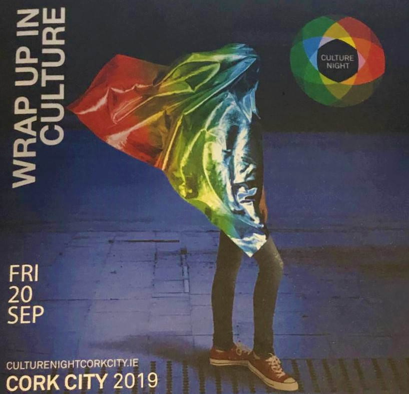 Cork City Culture Night Brochure Front, 20 September 2019