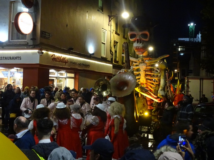 Cork Jazz Festival Parade, 25 October 2019