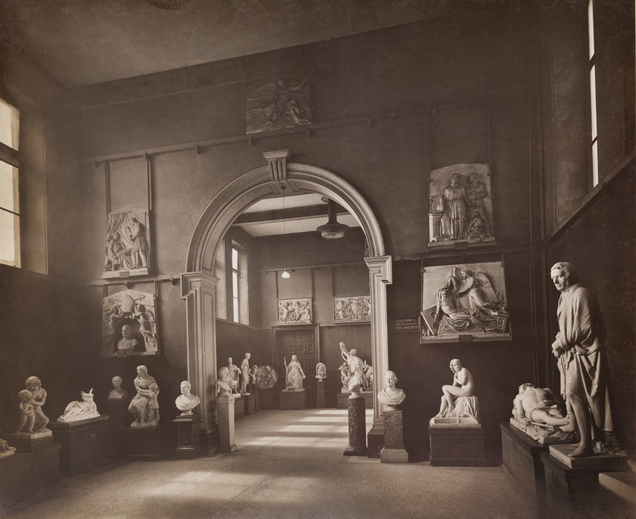 1019b. Canova Casts within the Sculpture Gallery of the Crawford Art Gallery, 1925