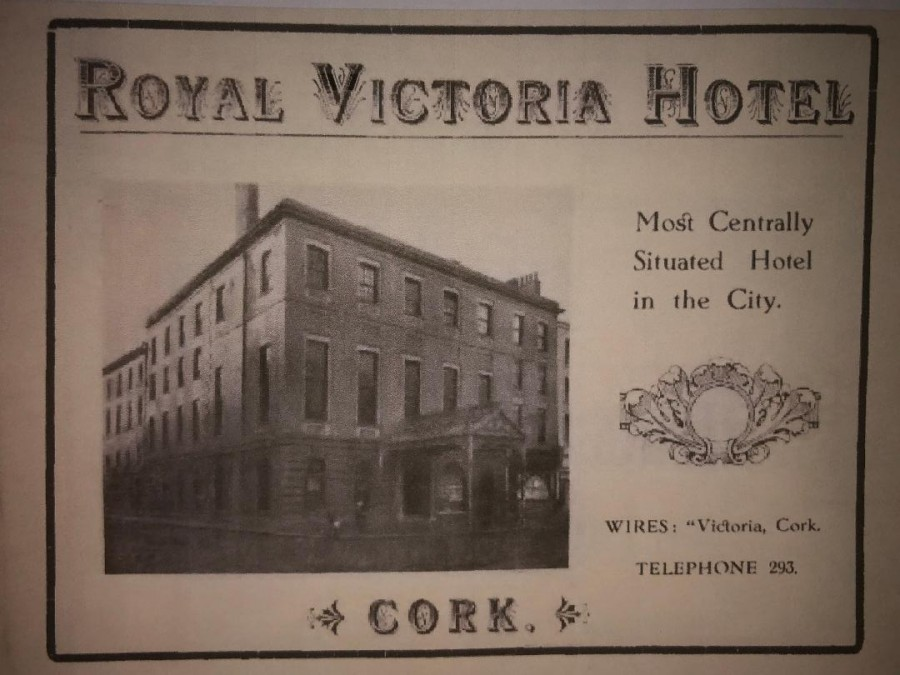 1024a. Advertisement for Royal Victoria Hotel, 1919