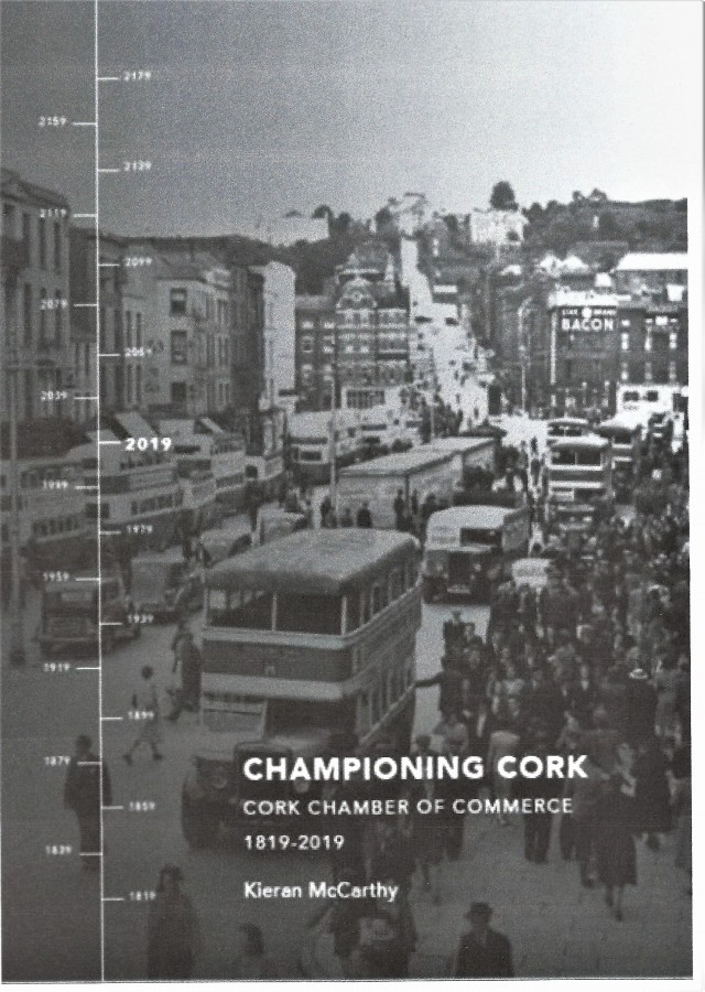 1024b. Front Cover of Championing Cork, Cork Chamber of Commerc