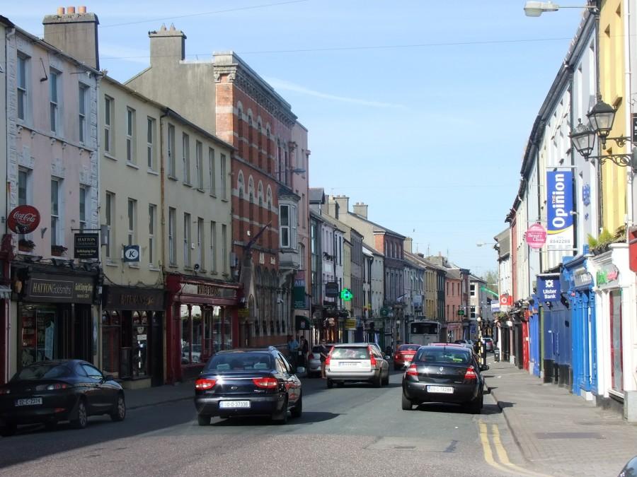 1025b. Main Street Bandon, present day