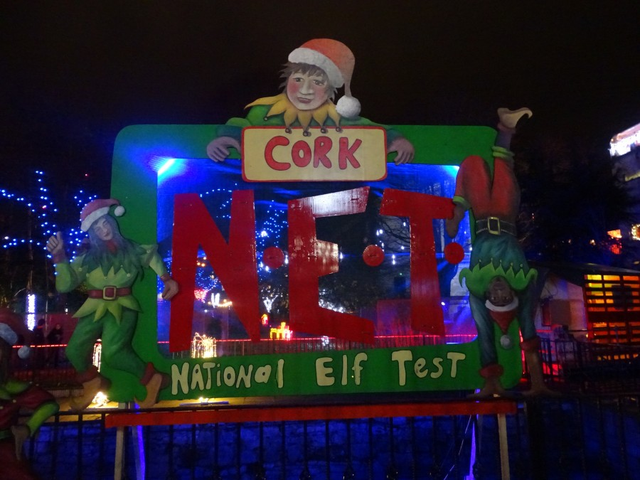Christmas on the Grand Parade, Cork, December 2019
