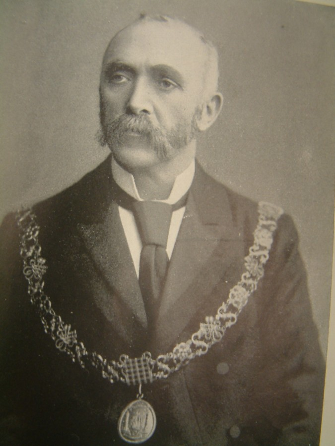 1034a. Edward Fitzgerald as Lord Mayor of Cork, c.1901