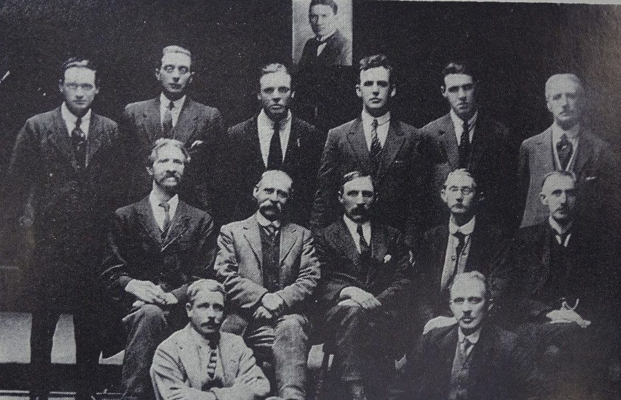 1045a. Picture of Inquest Jury of Tomás MacCurtain, 1920