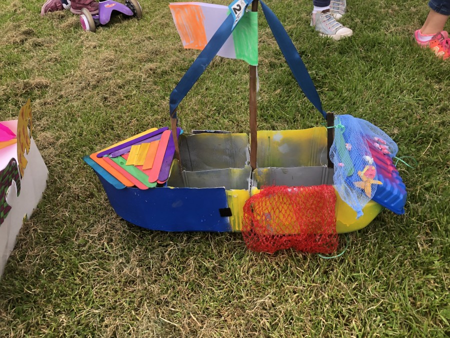 McCarthy's Make a Model Boat entry 2019