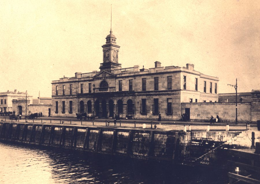 Old Cork City Hall, 1920 (source: Cork City Library)
