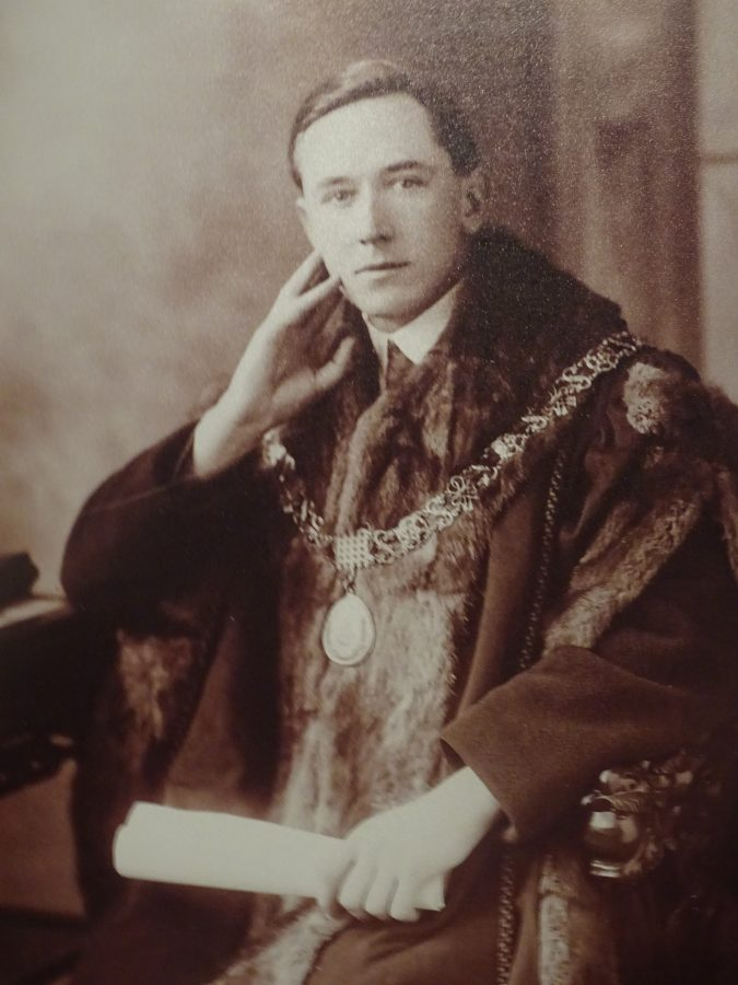 1074a. Lord Mayor of Cork Cllr Donal Óg O'Callaghan 1920 (picture: Cork City Museum)