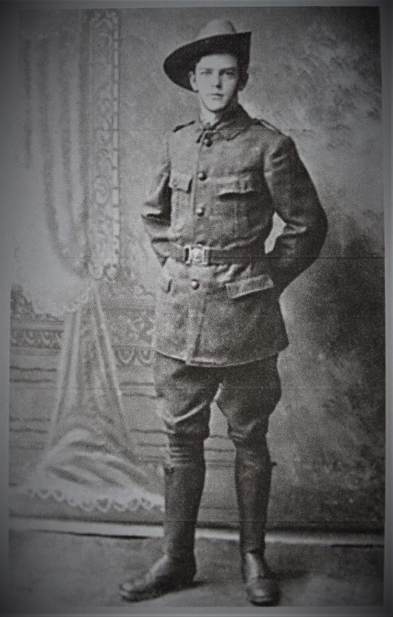 1074b. Christopher Lucey as a Cork Fianna member in 1916 (picture: Cork City Library).