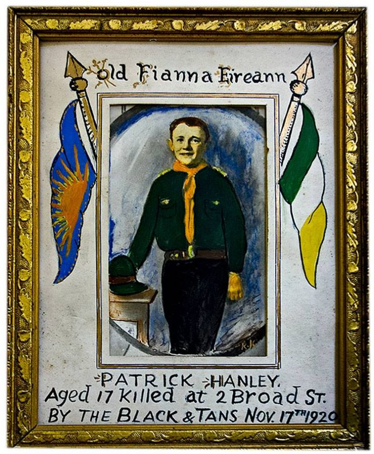 1075a. Portrait of Patrick Hanley 1920 (source: Cork City Library).