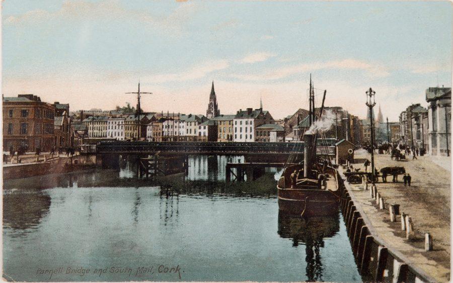 1081a. Parnell Bridge, c.1900 from Cork City Through Time by Kieran McCarthy & Dan Breen