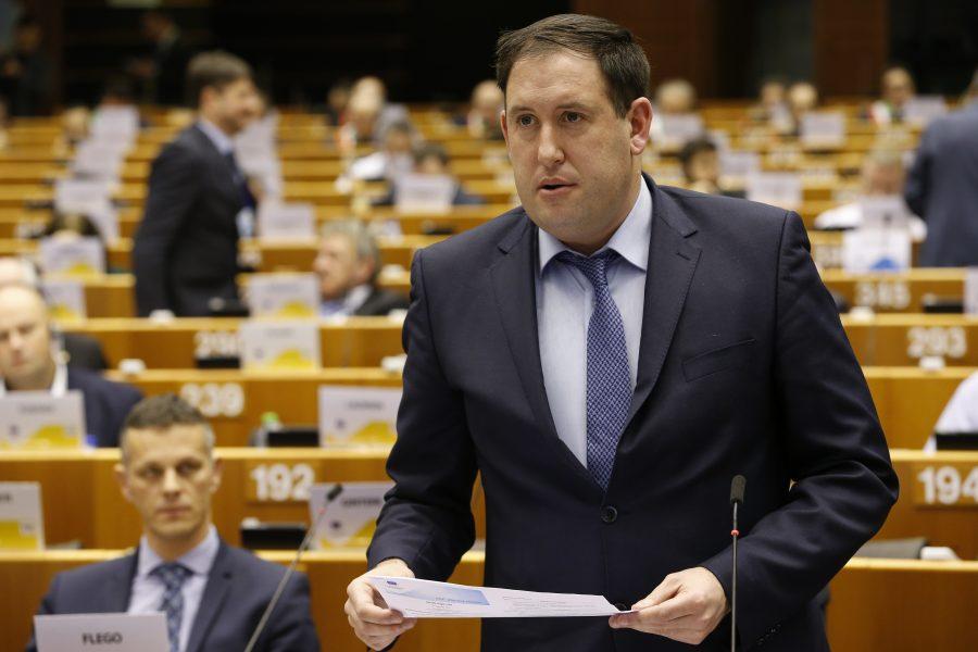 Kieran McCarthy, 6 February 2019, 133rd Plenary Session of the European Committee of the Regions  Belgium - Brussels - February 2019  © European Union / Patrick Mascart