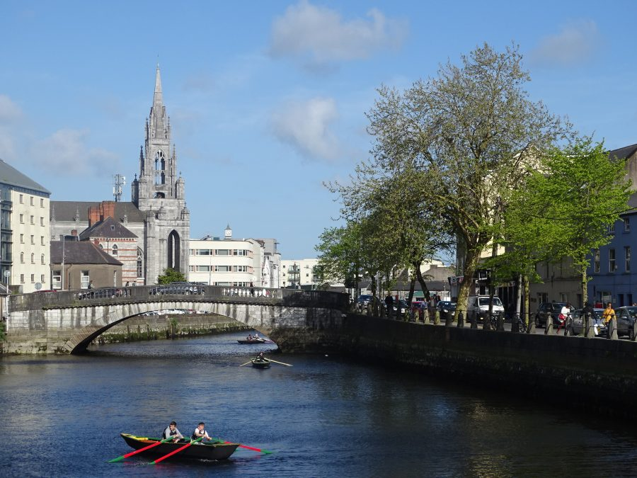 Parliament Bridge, Cork, present day (picture: Kieran McCarthy)