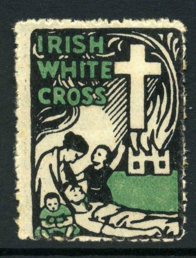 1089a. Branding for Irish White Cross, 1922 (source: Report of the Irish White Cross to 31st August, 1922)