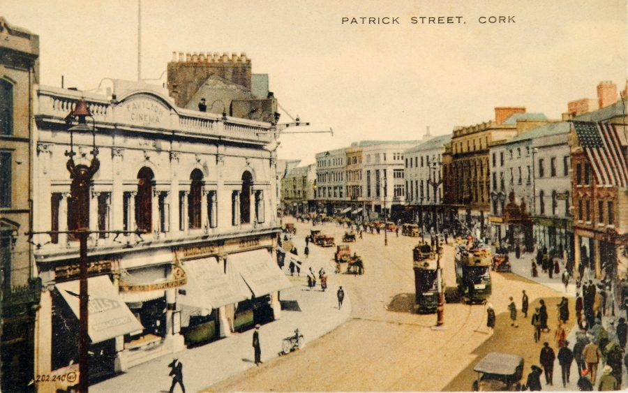 1090a. Pavilion Cinema, St Patrick's Street, late 1920s from Cork City Through Time by Kieran McCarthy and Dan Breen.