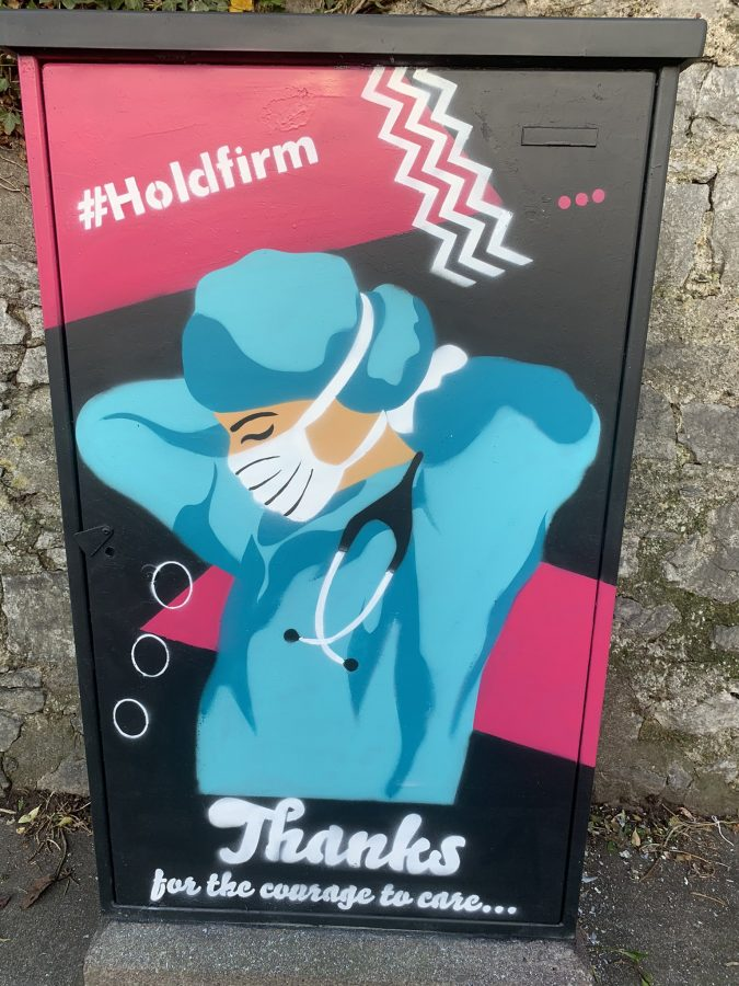 'Hold Firm' on Douglas Road, Cork by Kevin O'Brien Commissioned by Cllr Kieran McCarthy