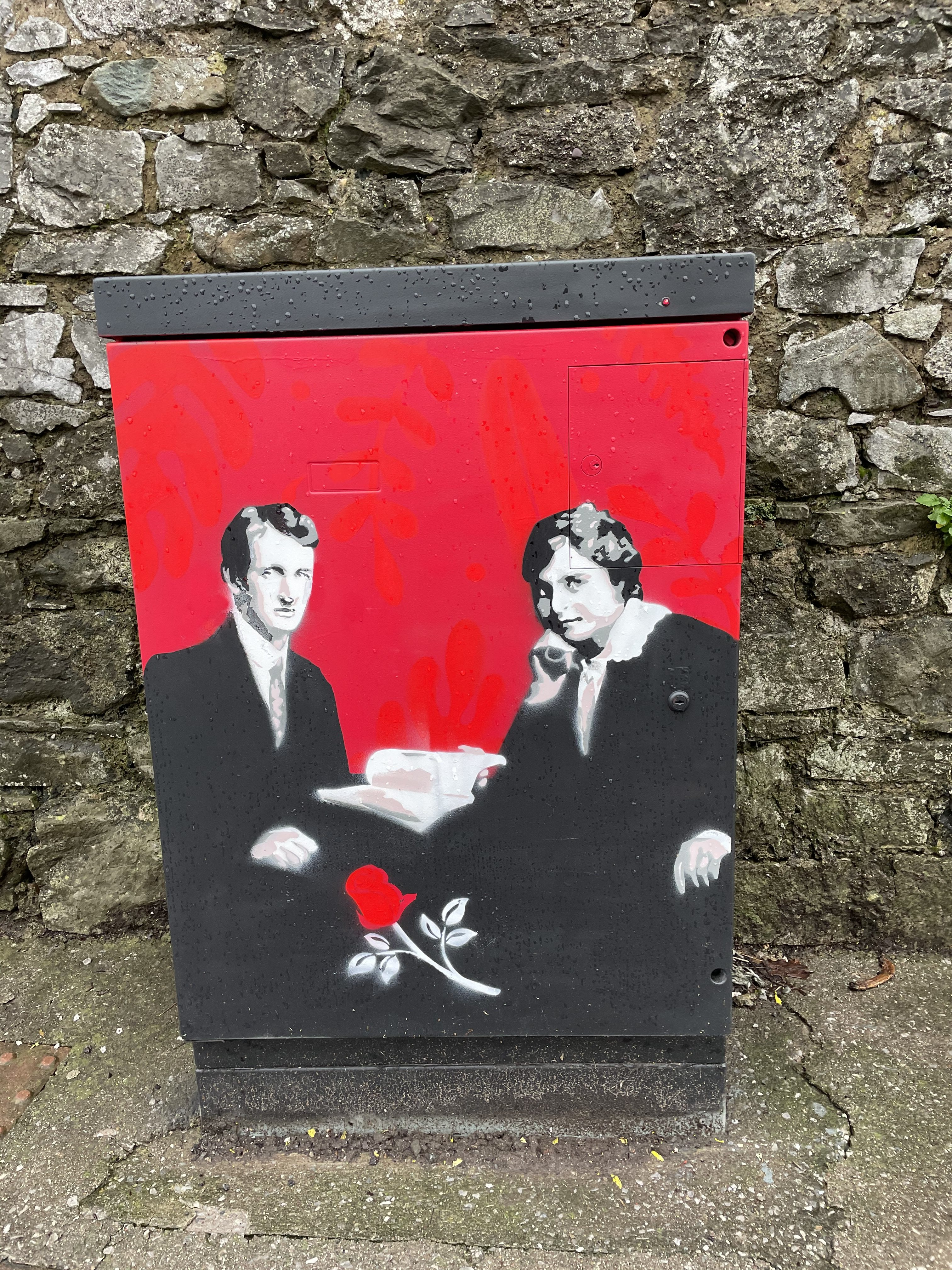 Terence and Muriel MacSwiney by Kevin O'Brien Commissioned by Cllr Kieran McCarthy