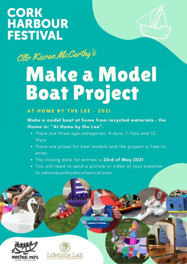 Cllr McCarthy's Make a Model Boat Project 2021