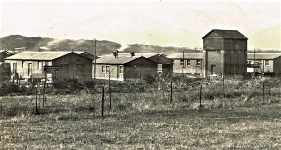 1098a. Ballykinlar Internment Camp, Co. Down, 1921 (picture: Cork City Library).