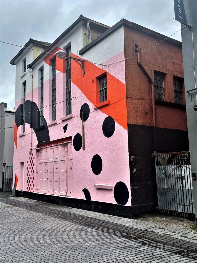 Caroline Street Former ESB Sub Station, Cork present day (picture: Kieran McCarthy)