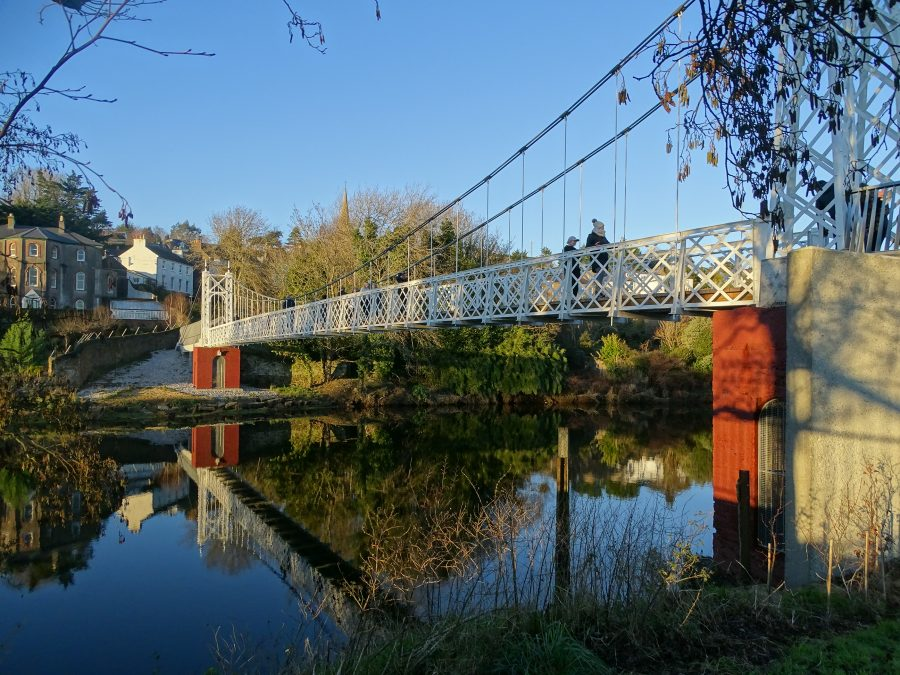 Daly's Bridge, AKA Shaky Bridge, present day (picture: Kieran McCarthy)